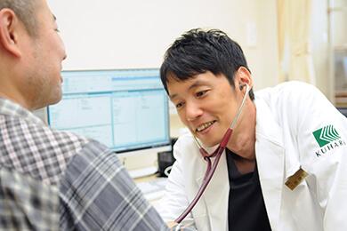 症状に対する処置よりも、患者様一人ひとりにとっての最善の方針を提案します。