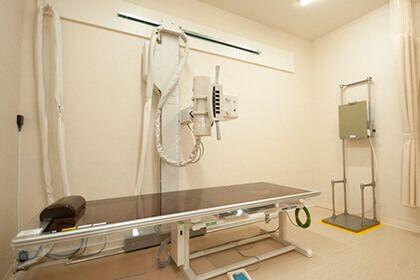 熊本県八代市「くはら内科」のレントゲン室の画像