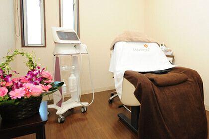 熊本県八代市の内科クリニックくはら内科の診察室の画像